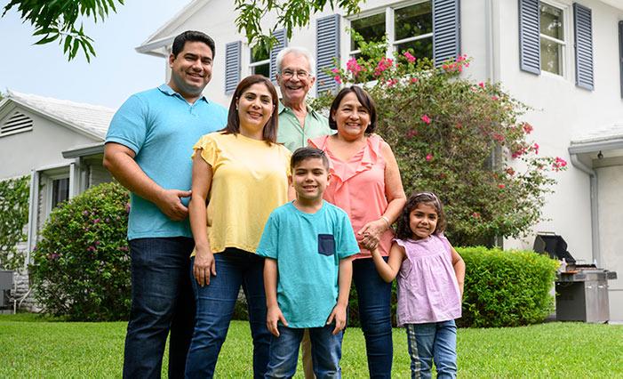 Family in Santa Cruz, CA